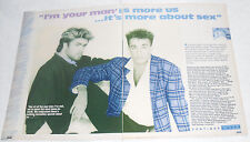 WHAM! 4 Page Smash Hits Feature! 1985!