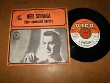 NEIL SEDAKA - STAR CROSSED LOVERS - WE HAD A - 45 PS / LISTEN - NORTHERN SOUL