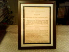 MESSAGE FROM THE PRESIDENT THEODORE ROOSEVELT ORIGINAL DOCUMENT - APRIL 13,1906