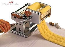 Ravioli Pasta Stainless Steel Machine Maker Cutter Noodle Spaghetti Roller