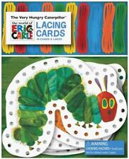 THE VERY HUNGRY CATERPILLAR LACING CARDS - CARLE, ERIC - NEW PAPERBACK BOOK