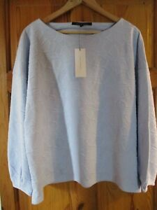 French Connection Sicily Balloon Sleeve Top XL