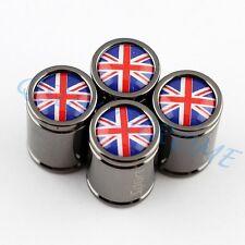 Auto Motor Parts Wheel Tyre Valve Cap For United Kingdom UK Flag Titanium Trims