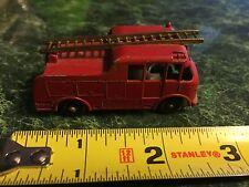 Vintage Lesley Matchbox  Diecast No. 9 Merryweather Marcus Fire Engine