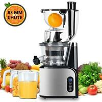 Aobosi Slow Juicer Blender for fruit and Vegetable pressing on Cold Extractor