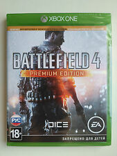 Battlefield 4: Premium Edition Microsoft Xbox One PAL Brand New Factory Sealed