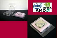 CPU Blister Pack Clam Shell for Intel AMD Processor + Anti Static Foam Qty - 20
