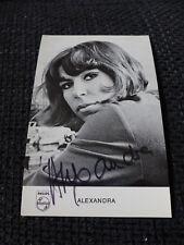 ALEXANDRA (+ 1969) signed Autogramm auf 9x14 cm Autogrammkarte LOOK