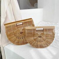 Elegant Women Weave Tote Bag High Quality Handbag Saddle Straw Beach Travel Bags