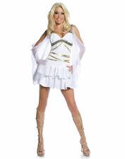 Womens White Greek Roman Greek Sexy Aphrodite Goddess Halloween Costume Xl