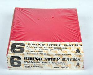 Victor Rhino Stiff Back Exercise Books Pack 6