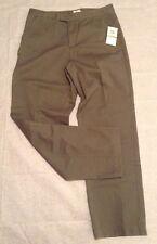 Calvin Klein Jeans Sz 12x32 Military Green Cotton Casual Pants K2