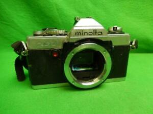 Minolta XG-1 35mm SLR Film Camera Body Only AS IS UNTESTED FOR PARTS
