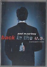 Mc CARTNEY PAUL McCARTNEY BACK IN THE U.S. DVD BEATLES  SEALED!!!