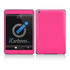 iPad Mini Skin - Pink Carbon Fiber