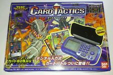 1999 Bandai Digimon Digivice Card Tactics with Box and Deck Starter Set New!