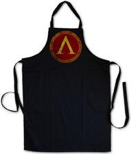 SPARTA GRILLSCHÜRZE KOCHSCHÜRZE Polis Spartaner Logo 300 Leonidas Symbol Sign