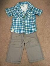 Baby Boys 12-18 Months Outfit, 2 Piece Set, Pumpkin Patch