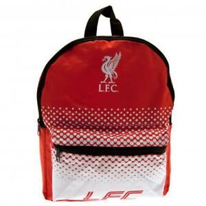 Liverpool FC Junior Backpack School Bag Red White Rucksack Outdoor