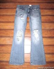 ABERCROMBIE & FITCH ~ New NWT! Size 2 ~ Destructed SLIM BOOTCUT Jeans