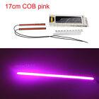 2pcs Super Bright pink Car COB LED Lights -DRL Fog Driving Lamp Waterproof