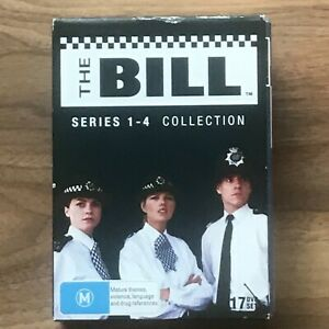 The Bill Series 1-4 Collection DVD Box Set - All Region