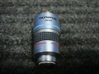 OLYMPUS A40PL 0.65 160/0.17 MICROSCOPE OBJECTIVE - 40X