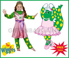 WIGGLES DOROTHY THE DINOSAUR CHILD BALLERINA COSTUME DRESS WITH TIARA 2-4Y GIRLS