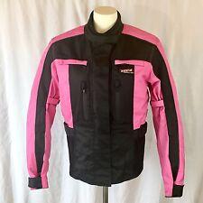 VEGA Women Motorcycle Pink Black Jacket Size Small LkNew Certified protectors