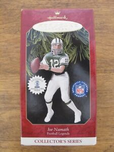 Hallmark Keepsake Ornament Joe Namath NFL Football Legends Collector's Series