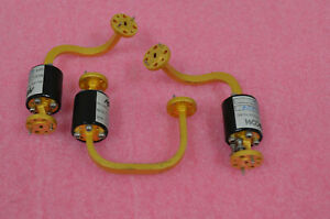 MA/COM WR15 Waveguide Isolators, Lot of THREE 50-75GHz GOOD