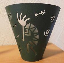 Partylite Votivkerzenhalter Teelichthalter Wandhalter Paar Arizona grün Einzelst