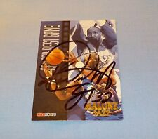 Karl Malone Signed Autographed 1997 SkyBox NBA Hoops Card Utah Jazz