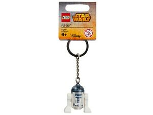 LEGO R2-D2 MINIFIGURE KEYCHAIN STAR WARS 853470 KEYRING KEY CHAIN RING