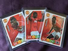 2011 Panini Adrenalyn XL Paul Pogba 3 Card Rookie Lot