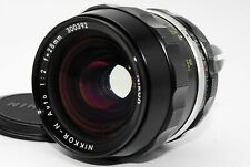 【EXCELLENT+++】Nikon Nikkor N Auto 28mm f/2 From Japan 1087