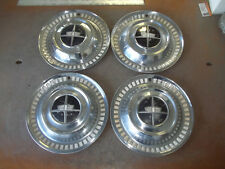 "1956 56 Dodge Hubcap Rim Wheel Cover Hub Cap 15"" OEM USED SET 4"