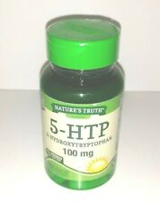 NEW Nature's Truth 5-HTP 5-Hydroxytryptophan 100mg Supplement SEALED 10/2022