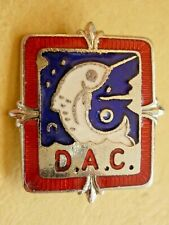 More details for unknown vintage fishing angling club enamel badge  d.a.c.
