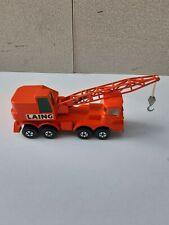 Matchbox kingsize K12-2 Scammell crane truck.