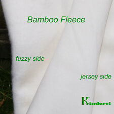 BAMBOO Heavy Fleece Fabric, HOBF, for Cloth Diapers and Pads SALE