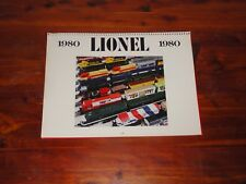 1980 LIONEL TRAIN CALENDAR BY TM PRODUCTIONS