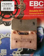 EBC/FA244HH Sintered Brake Pads (Front) - Ducati 996, 998, Multistrada 1200