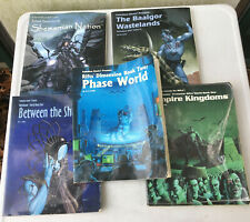 LOT of 5 RPG Sourcebooks Rifts Nightbane Baalgor Wastelands Shemarrian Nation