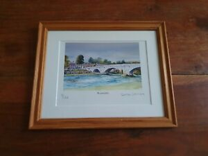 Burnsall by Debbi Johnson. Limited edition signed print