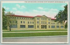 Baton Rouge Louisiana~State University Fine Arts Building~Vintage Postcard