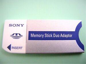 MemoryStick Duo Adapter ( Memory Stick PRO Duo Adapter ) SONY Neu