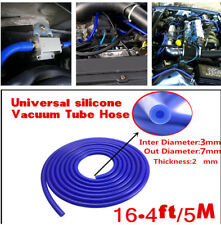1 PC New 3mm Silicone Vacuum Tube Hose Silicone Tubing 16.4ft 5M 5 Meters Blue