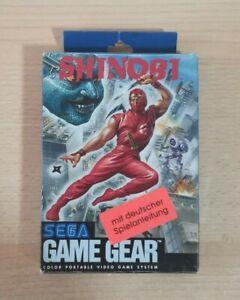 SEGA Game Gear - SHINOBI + Originalverpackung