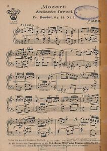 """""""Andante favori"""" für Salonorchester"""